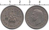 Изображение Монеты Великобритания 1 шиллинг 1949 Медно-никель XF