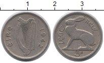 Изображение Монеты Ирландия 3 пенса 1942 Медно-никель XF
