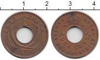 Изображение Монеты Восточная Африка 1 цент 1962 Бронза XF