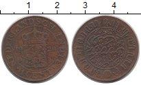 Изображение Монеты Нидерландская Индия 1 цент 1920 Бронза VF