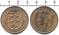 Изображение Монеты Остров Джерси 1/12 шиллинга 1952 Бронза VF
