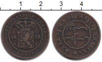 Изображение Монеты Нидерландская Индия 1 цент 1856 Медь XF