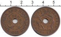 Изображение Монеты Родезия 1 пенни 1962 Бронза XF