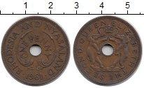 Изображение Монеты Родезия 1 пенни 1961 Бронза XF Елизавета II.