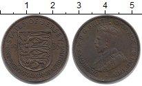 Изображение Монеты Остров Джерси 1/24 шиллинга 1935 Бронза XF