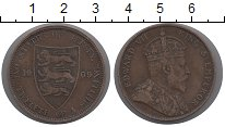 Изображение Монеты Остров Джерси 1/12 шиллинга 1909 Бронза VF