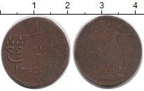 Изображение Монеты Малайя 1 кеппинг 1831 Медь VF Малакка
