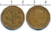 Изображение Монеты Канада 5 центов 1943 Латунь XF