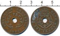 Изображение Монеты Родезия 1 пенни 1952 Бронза VF