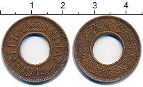 Изображение Монеты Индия 1 пайс 1944 Бронза XF