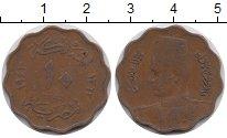 Изображение Монеты Египет 10 миллим 1943 Бронза VF