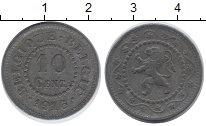 Изображение Монеты Бельгия 10 сентим 1916 Цинк XF