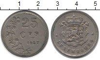 Изображение Монеты Люксембург 25 сентим 1927 Медно-никель XF