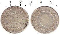 Изображение Монеты Австрия 20 крейцеров 1828 Серебро VF