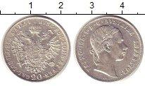 Изображение Монеты Австрия 20 крейцеров 1854 Серебро XF