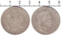 Изображение Монеты Австрия 1 флорин 1859 Серебро XF