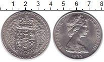 Изображение Монеты Новая Зеландия 1 доллар 1972 Медно-никель XF