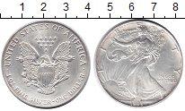 Изображение Монеты США 1 доллар 1993 Серебро UNC