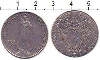 Изображение Монеты Ватикан 1 лира 1940 Железо XF Понтифик  Пий XII.