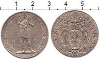 Изображение Монеты Ватикан 2 лиры 1936 Медно-никель XF