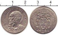 Изображение Монеты Ватикан 20 сентим 1931 Медно-никель XF