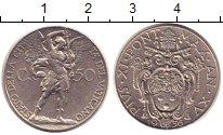 Изображение Монеты Ватикан 50 сентим 1936 Медно-никель XF