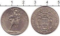 Изображение Монеты Ватикан 50 сентим 1937 Медно-никель XF