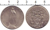 Изображение Монеты Ватикан 1 лира 1932 Медно-никель XF Понтифик  Пий XI.