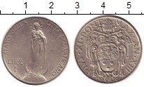 Изображение Монеты Ватикан 1 лира 1934 Медно-никель XF Понтифик  Пий XI.