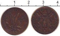 Изображение Монеты Ватикан 5 сентим 1931 Медь XF