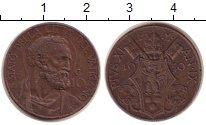 Изображение Монеты Ватикан 10 сентим 1930 Медь VF