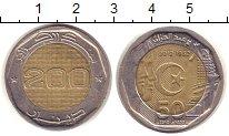 Изображение Монеты Алжир 200 динар 2012 Биметалл UNC- 50 лет Независимости