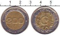 Изображение Монеты Алжир 200 динар 2013 Биметалл UNC- 50 лет Независимости