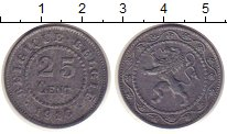 Изображение Монеты Бельгия 25 сентим 1916 Цинк XF