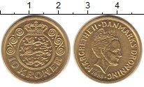 Изображение Монеты Дания 10 крон 1998 Латунь XF