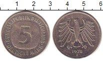 Изображение Монеты Германия 5 марок 1975 Медно-никель XF