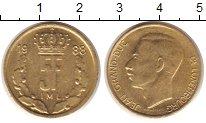 Изображение Монеты Люксембург 5 франков 1988 Латунь XF