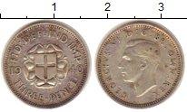 Изображение Монеты Оккусси Амбено 3 пенса 1940 Серебро XF