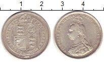 Изображение Монеты Великобритания 1 шиллинг 1887 Серебро VF