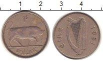 Изображение Монеты Ирландия 1 шиллинг 1951 Медно-никель XF