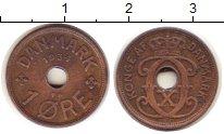 Изображение Монеты Дания 1 эре 1934 Бронза XF