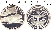 Изображение Монеты Маршалловы острова 50 долларов 1996 Серебро Proof-