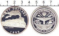 Изображение Монеты Маршалловы острова 50 долларов 1996 Серебро Proof