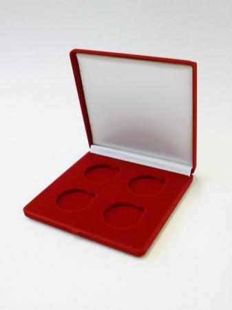 Изображение Аксессуары для монет Бархат Футляры в ассортименте Ø 45 мм (№1) 0