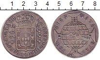 Изображение Монеты Бразилия 960 рейс 1818 Серебро XF Португальская колони