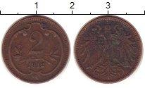 Изображение Монеты Австрия 2 хеллера 1912 Бронза VF