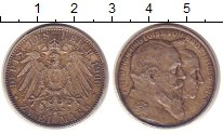 Изображение Монеты Германия Баден 2 марки 1906 Серебро XF