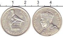 Изображение Монеты Великобритания Родезия 1 шиллинг 1936 Серебро XF
