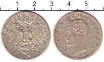 Изображение Монеты Бавария 2 марки 1907 Серебро XF