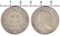 Изображение Монеты Германия Вюртемберг 2 марки 1906 Серебро VF